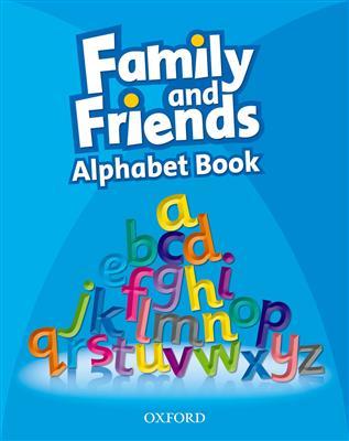 خرید کتاب انگليسی Family and Friends: Alphabet Book