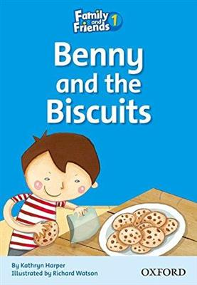 خرید کتاب انگليسی Family and Friends Readers 1 Benny and the Biscuits