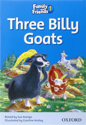 خرید کتاب انگليسی Family and Friends Readers 1 Three Billy Goats