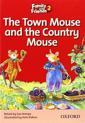 خرید کتاب انگليسی Family and Friends Readers 2 The Town Mouse and the Country Mouse