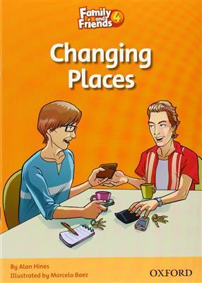 خرید کتاب انگليسی Family and Friends Readers 4 Changing Places