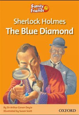 خرید کتاب انگليسی Family and Friends Readers 4 Sherlock Holmes: The Blue Diamond