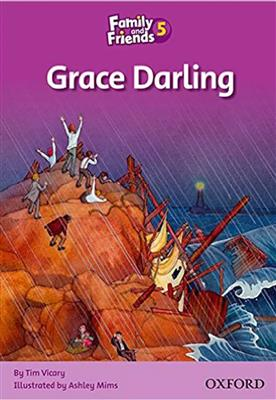 خرید کتاب انگليسی Family and Friends Readers 5 Grace Darling