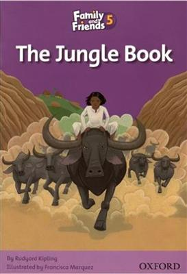 خرید کتاب انگليسی Family and Friends Readers 5 The Jungle Book