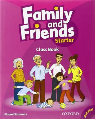 خرید کتاب انگليسی Family and Friends Starter (SB+WB+2CD)