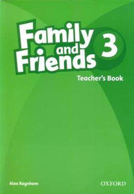 خرید کتاب انگليسی Family and Friends Teachers Book 3