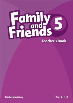خرید کتاب انگليسی Family and Friends Teachers Book 5