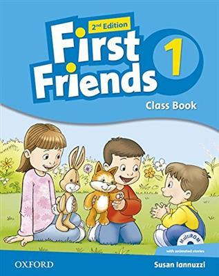 خرید کتاب انگليسی First Friends 1 (2nd) SB+WB+CD