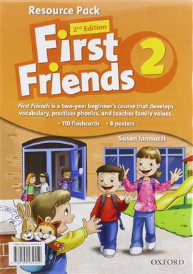 خرید کتاب انگليسی First Friends 2 (2nd) SB+WB+CD