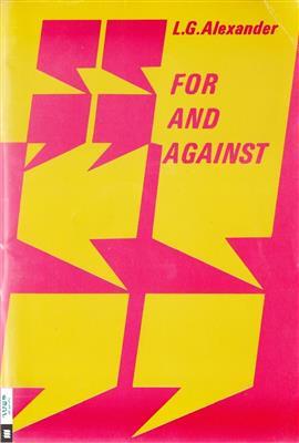خرید کتاب انگليسی For and Against