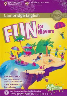 خرید کتاب انگليسی Fun for Movers Students Book 4th+CD