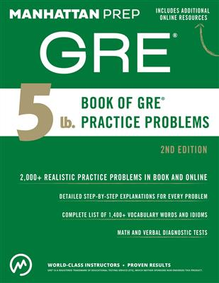 خرید کتاب انگليسی GRE Manhattan 2nd