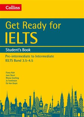 خرید کتاب انگليسی Get Ready for IELTS (SB+WB+CD)Band 3.5-4.5