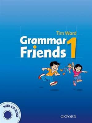 خرید کتاب انگليسی Grammar Friends 1 Students Book+CD