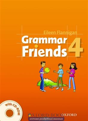 خرید کتاب انگليسی Grammar Friends 4 Students Book+CD