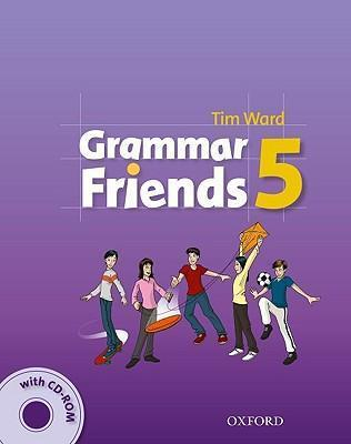 خرید کتاب انگليسی Grammar Friends 5 Students Book+CD