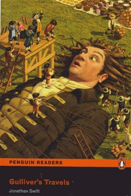 خرید کتاب انگليسی Gullivers Travels Penguin Readers Level 2