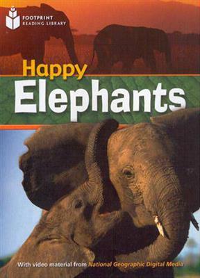 خرید کتاب انگليسی Happy Elephants story+DVD