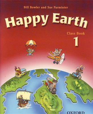 خرید کتاب انگليسی Happy earth 1