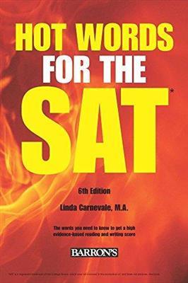 خرید کتاب انگليسی Hot Words for the SAT 6th