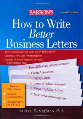 خرید کتاب انگليسی How to Write Better Business Letters