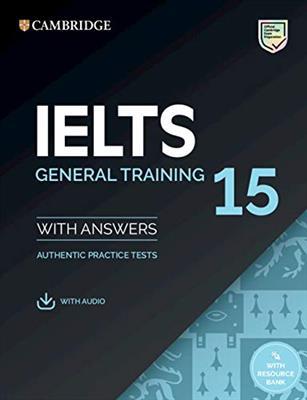 خرید کتاب انگليسی IELTS Cambridge 15 General + CD