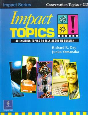 خرید کتاب انگليسی Impact Topics