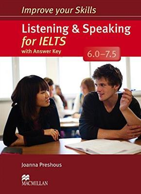 خرید کتاب انگليسی Improve Your Skills: Listening and speaking for IELTS+CD 6.0-7.5