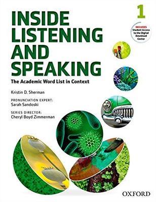 خرید کتاب انگليسی Inside Listening and Speaking 1+CD