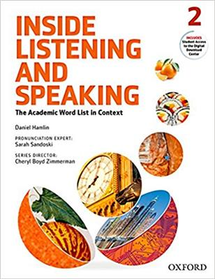 خرید کتاب انگليسی Inside Listening and Speaking 2+CD