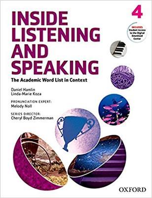 خرید کتاب انگليسی Inside Listening and Speaking 4+CD