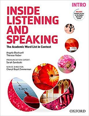 خرید کتاب انگليسی Inside listening and speaking intro