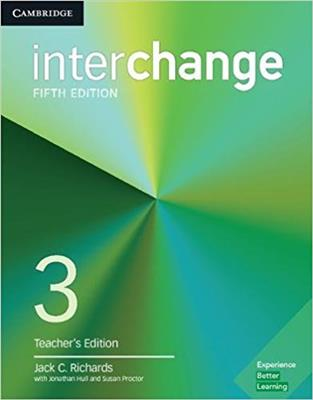 خرید کتاب انگليسی Interchange 3 Teacher's Edition 5th Edition