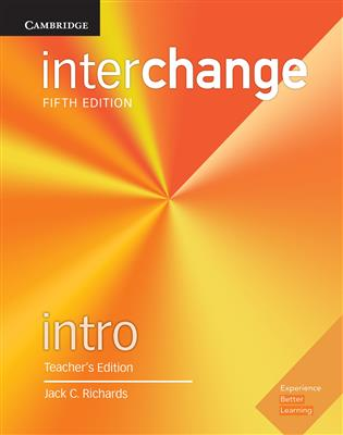 خرید کتاب انگليسی Interchange Intro Teacher's Edition 5th Edition