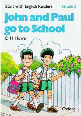 خرید کتاب انگليسی John and Paul Go to School