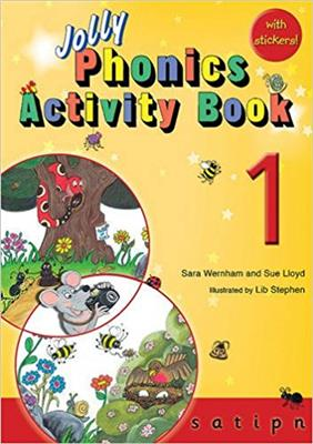 خرید کتاب انگليسی Jolly Phonics Activity Book 1