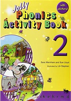 خرید کتاب انگليسی Jolly Phonics Activity Book 2