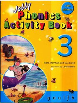 خرید کتاب انگليسی Jolly Phonics Activity Book 3