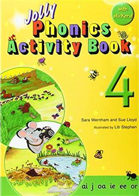 خرید کتاب انگليسی Jolly Phonics Activity Book 4