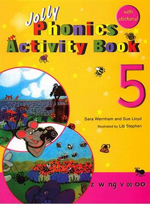 خرید کتاب انگليسی Jolly Phonics Activity Book 5