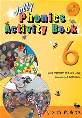 خرید کتاب انگليسی Jolly Phonics Activity Book 6