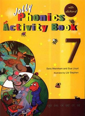 خرید کتاب انگليسی Jolly Phonics Activity Book 7