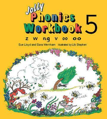 خرید کتاب انگليسی Jolly Phonics Workbooks 5