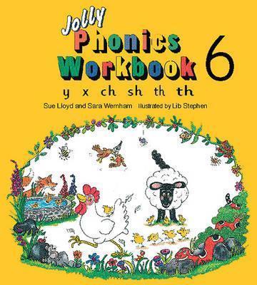 خرید کتاب انگليسی Jolly Phonics Workbooks 6