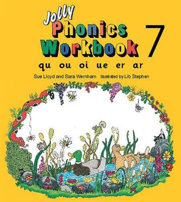 خرید کتاب انگليسی Jolly Phonics Workbooks 7