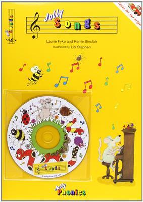 خرید کتاب انگليسی Jolly Songs (Book & CD)