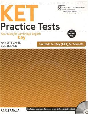 خرید کتاب انگليسی KET Practice Tests+CD