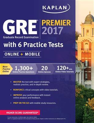 خرید کتاب انگليسی Kaplan GRE Premier 2017