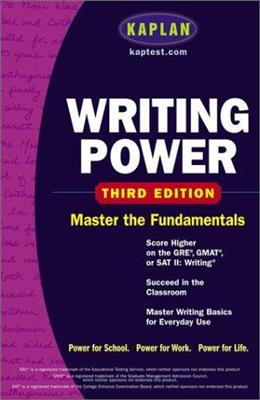 خرید کتاب انگليسی Kaplan Writing Power