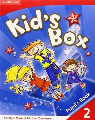 خرید کتاب انگليسی Kid's Box 2 Activity Book + CD